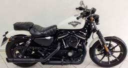 Harley Davidson Xl 883n Iron 2018 Branca