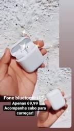 Fone bluetooth i12 novo!