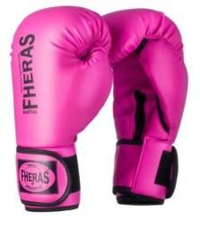 Kit Boxe / Muay Thai Rosa FHERAS