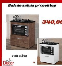 Balcão cooktop