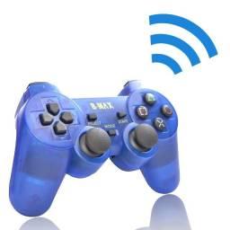Controle Sem Fio Playstation2 2.4ghz Dualshock Analógico e Conector