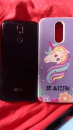 Celular LG k12+ novo