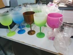 Taças Gin para Transfer