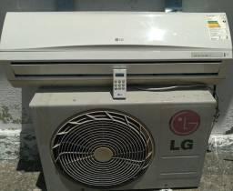Título do anúncio: Ar LG 9 btus + instalação inclusa