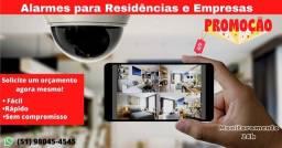 Título do anúncio: Câmeras e alarmes instalações!