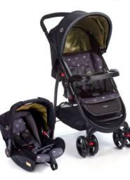 Vendo Carrinho e bebê conforto Cosco Nexus