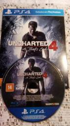 Jogos ps4 Uncharted 4