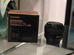 Lente Yongnuo YN 50mm F/1.8 Para Nikon - NOVA