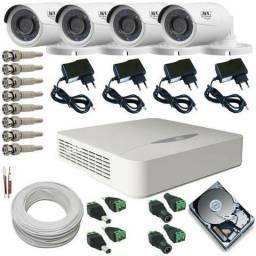 Câmeras de Segurança | Instalado | Acesso local e remoto