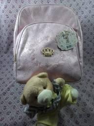 Bolsa mochila para maternidade menina