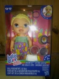 Vende - se ou troca - se boneca baby a live