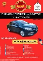 Fluence 2016 Previlege IMPECÁVEL De Procedência - 2016