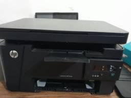 Vendo impressora Hp Laser Jet Pro MFP M125a