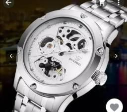 1fe8237583c Relógio Luxo Auto Mecânica não usa bateria masculino