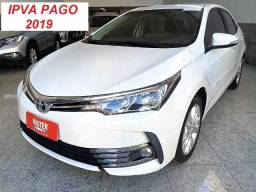 Corolla XEi 2.0 Dual Multi-Drive S Modelo novo - IPVA 2019 PAGO - 2018