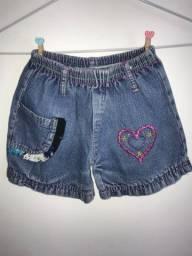Short Jeans Infantil - TAM M