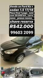 Vendo Ford ka Sedan - 2018
