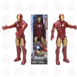 Boneco Articulado Homem de Ferro Marvel 30Cm Hasbro Original