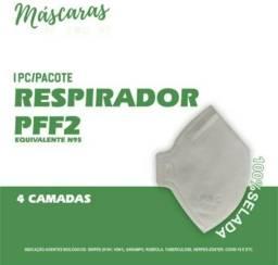Mascara Respirador proteção tipo PFF2 / N95