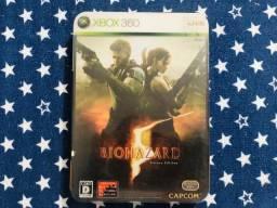 Xbox 360 Resident Evil Edição De Luxo Com Livro Japonês comprar usado  Praia Grande