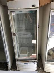 Freezer Vertical Expositor p/Sorvete e Congelados VF50-F Metalfrio 572 L - Seminovo