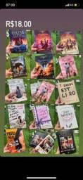 Livros diversos títulos