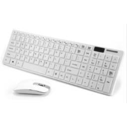 KiT Teclado Mouse Set, K-06 2.4ghz Pc Laptop Smart Tv