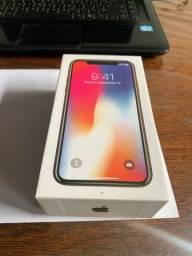 IPhone X 256 gb, sem detalhes