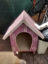 Linda casa de cachorro- porte médio/grande