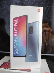 Natal Xiaomi! Redmi Note 9S ... NOVO LACRADO COM GARANTIA e entrega hj