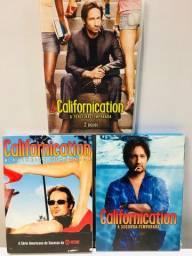 DVD Série Californicatio 1ª, 2ª e 3ª Temporada