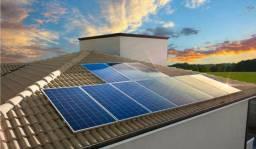 Energia , placa solar