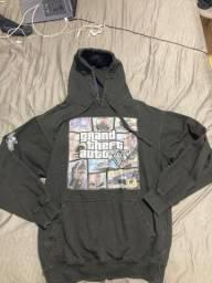 Blusa preta com capuz GTA 5