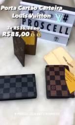 Porta cartão carteira grife - Louis Vuitton