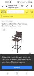 Cadeira  de restaurante para  crianças