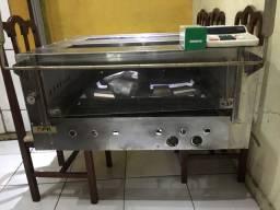 Forno industrial de pizza ou assado