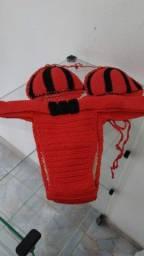 Título do anúncio: Biquíni de croché G novo  25 reais.