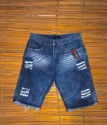 Bermudas Jeans atacado 3 por 120