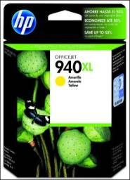 Cartucho Hp 940xl Amarelo Original. 19,5ml Imprimindo páginas com 5% de cobertura