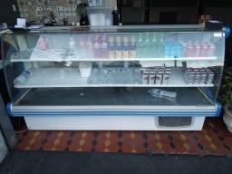 Balcão refrigerado 1,75m Vitalis Gelopar GPDV-175