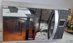 Título do anúncio: Vendo micro-ondas philco espelhado '25 litros.