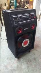 Caixa amplificador Lenoxx