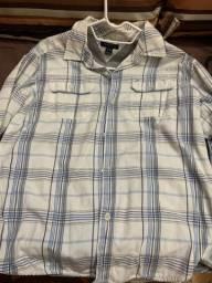 camisa tommy 12-14 anos forrada, manga comprida, estilosa