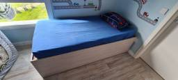 Título do anúncio: Cama 3 em 1. Cama de casal, bicama, e cama auxiliar