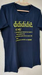 Camisa com frase - Entrega Grátis