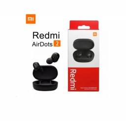 Fone de Ouvido Bluetooth Redmi Airdots 2 - Xiaomi Lançamento 2021