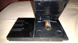 Playstation 2 slim desbloqueado 'defeito'