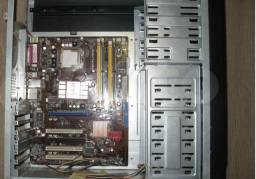 PC Asus P5kpl-am,Ddr2 4 gigas,video gforce 6200,hd 80 giga,cpu dual core e7200;349 reais