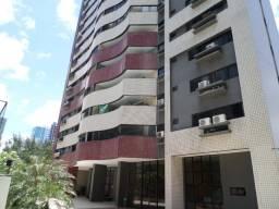 Apartamento com 3 dormitórios para alugar, 155 m² por R$ 2.200,00/mês - Meireles - Fortale