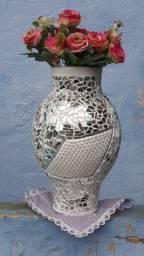 Vaso artesanal espelhado